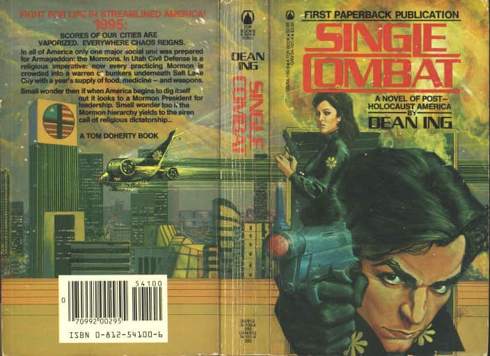 Single Combat - Dean Ing cover