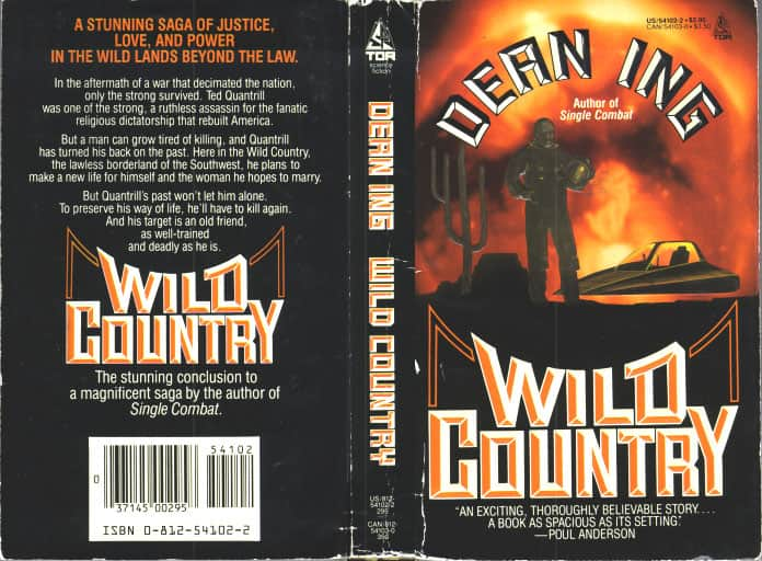 Wild Country - Dean Ing cover