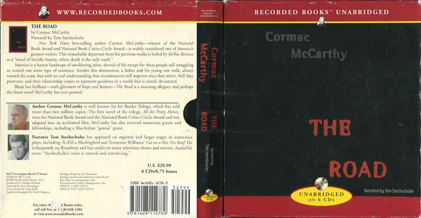 The Road  - Cormac McCarthy cover