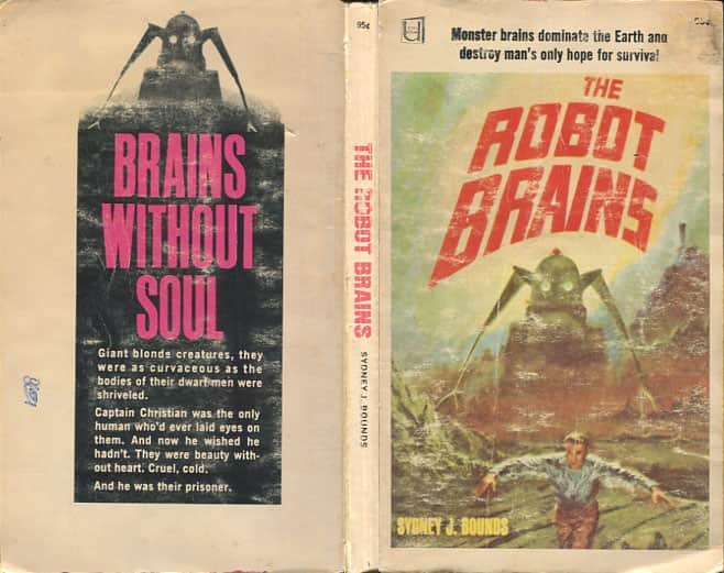 The Robot Brains - Sydney J. Bounds cover ...
