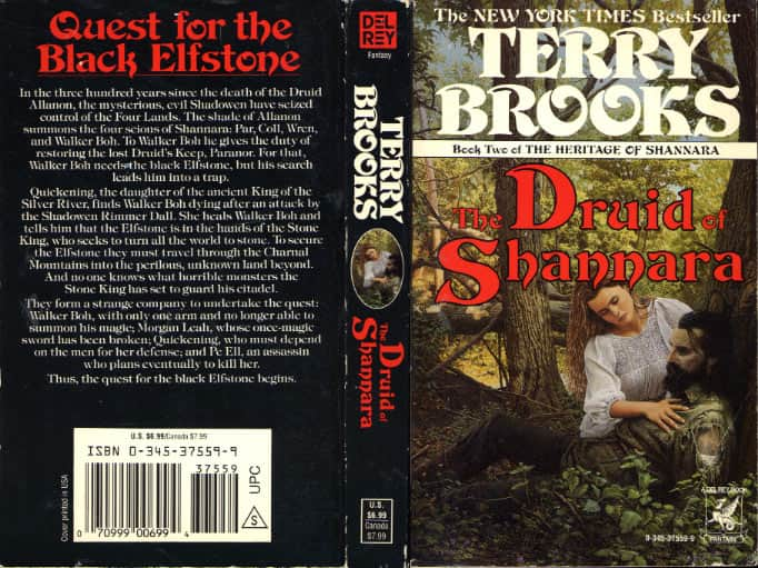 The Druid of Shannara  - Terry Brooks cover