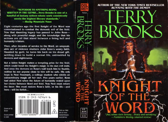 A Knight of the Word  - Terry Brooks cover