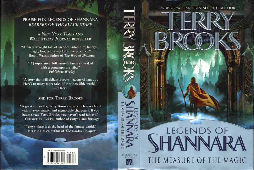 The Measure of the Magic  - Terry Brooks cover