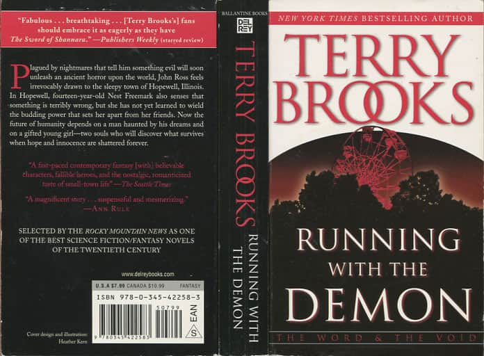 Running with the Demon - Terry Brooks cover
