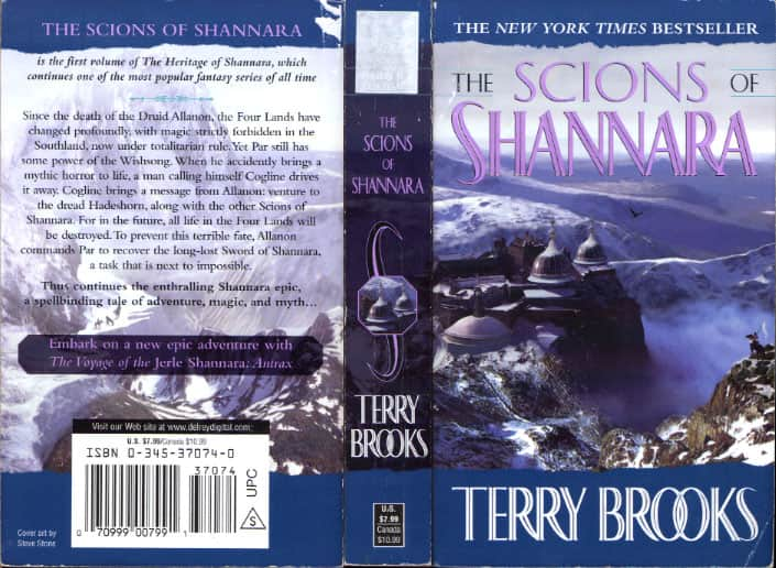 The Scions of Shannara  - Terry Brooks cover