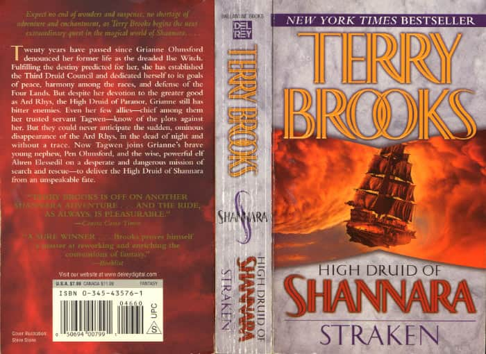 Straken - Terry Brooks cover