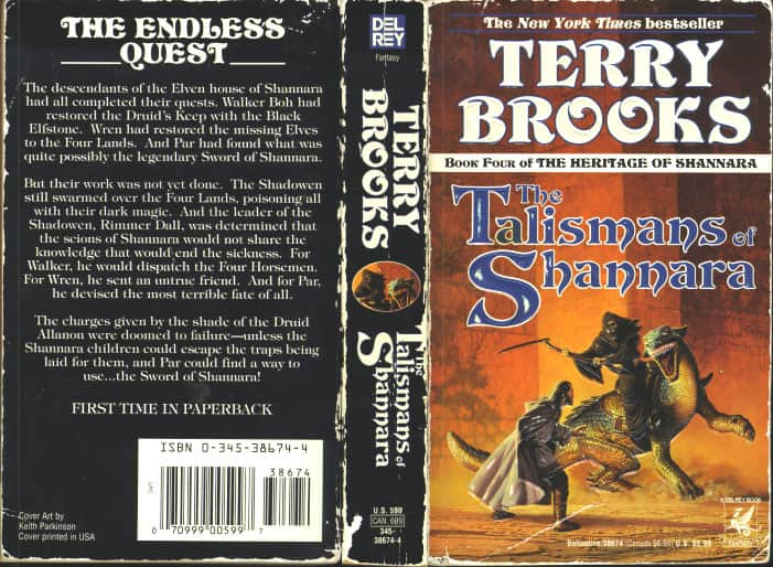 The Talismans of Shannara  - Terry Brooks cover