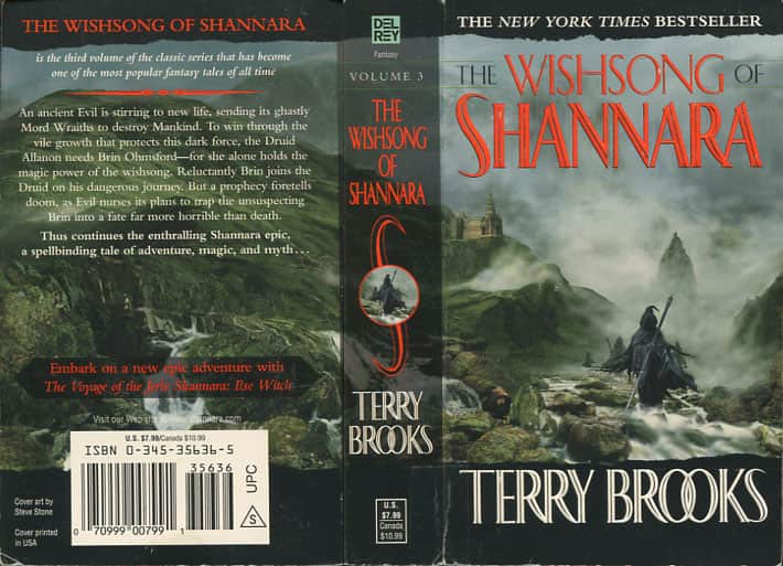 The Wishsong of Shannara  - Terry Brooks cover