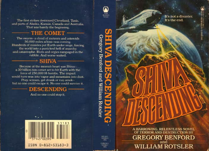 Shiva Descending - Gregory Benford / William Rotsler cover