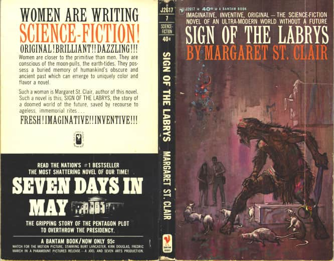 Sign of the Labrys - Margaret St. Clair cover