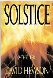 Solstice - David Hewson cover