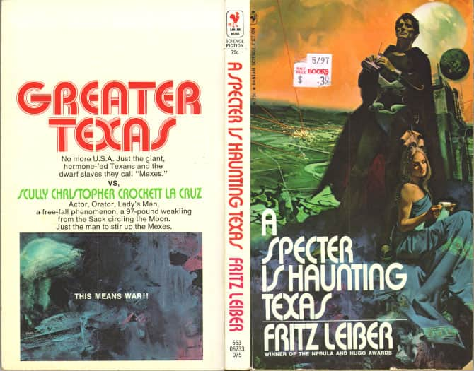 A Specter Is Haunting Texas  - Fritz Leiber cover