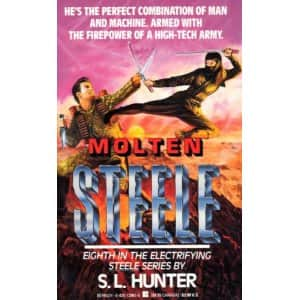 Molten Steele - J. D. Masters cover
