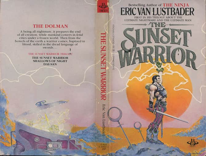 The Sunset Warrior  - Eric Van Lustbader cover