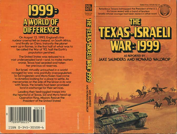 The Texas-Israeli War: 1999  - Howard Waldrop / Jake Saunders cover