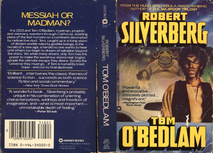 Tom O'Bedlam - Robert Silverberg cover
