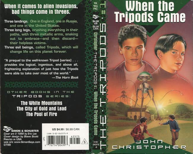 When the Tripods Came - John Christopher cover