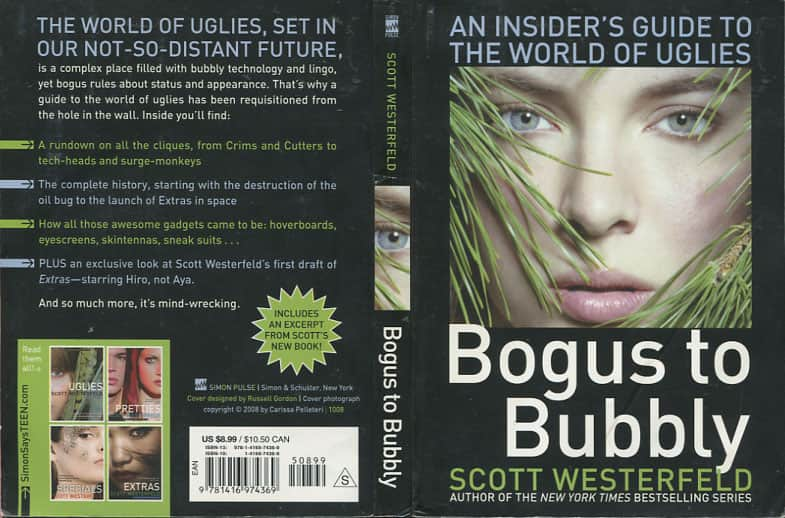 Bogus to Bubbly - Scott Westerfeld cover