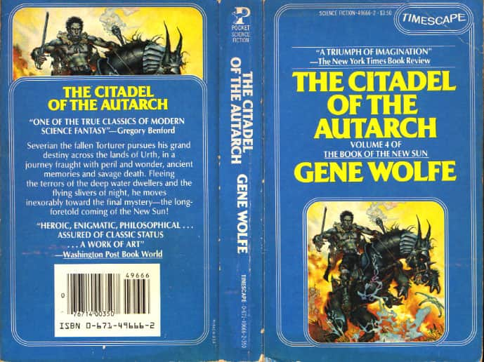The Citadel of the Autarch  - Gene Wolfe cover