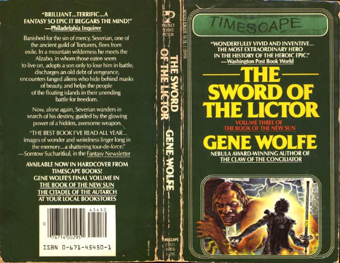 The Sword of the Lictor  - Gene Wolfe cover