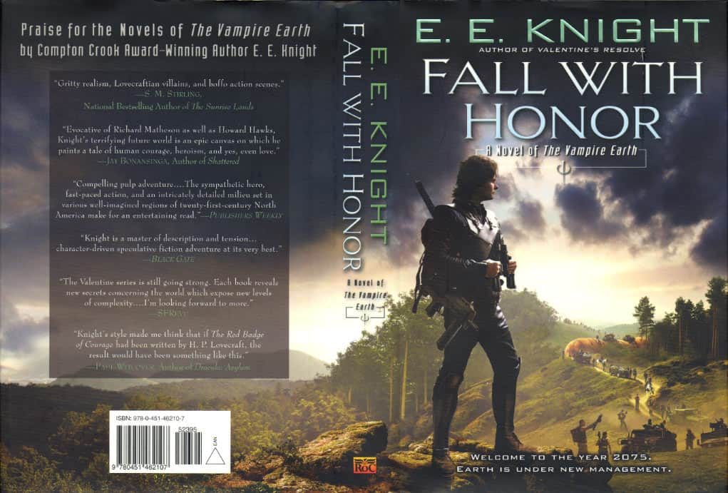 Fall with Honor - E E Knight cover