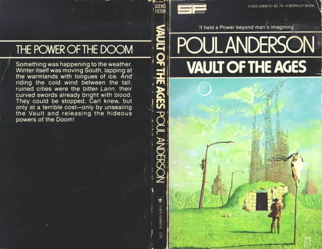 Vault of the Ages - Poul Anderson cover