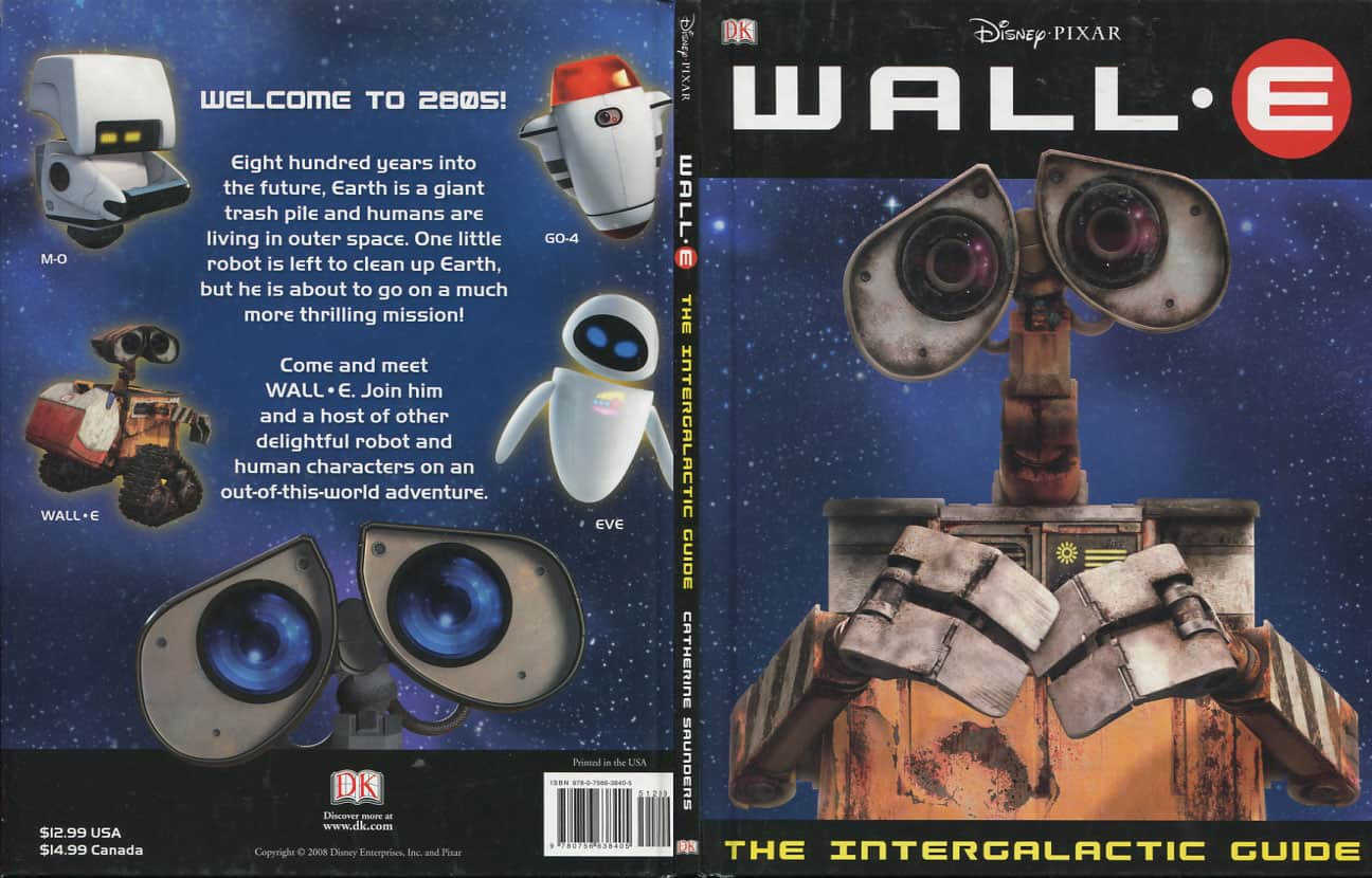 Wall-E Intergalactic Guide - Catherine Saunders cover