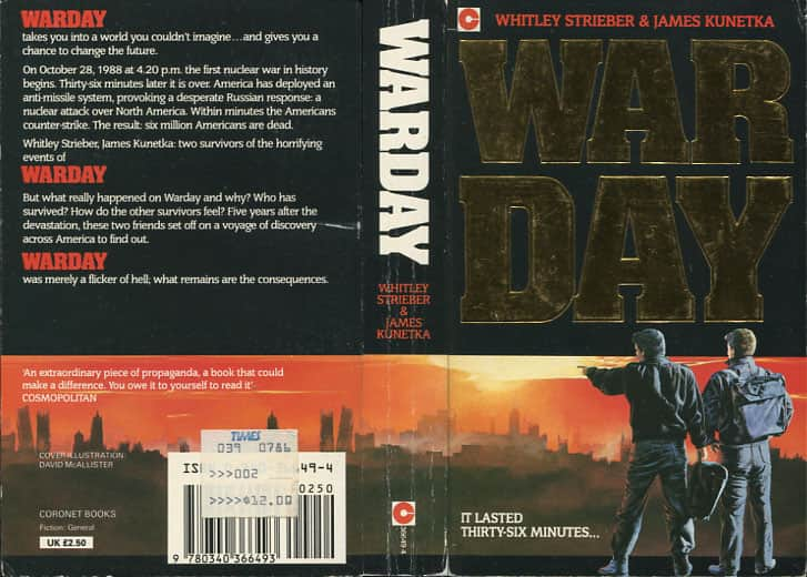 Warday - Whitley Strieber / James Kunetka cover