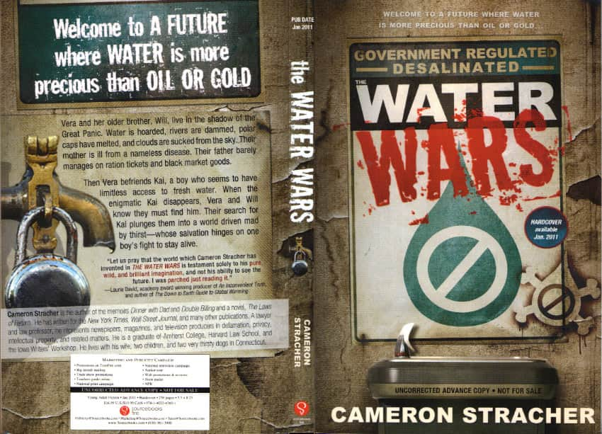 The Water Wars  - Cameron Stracher cover