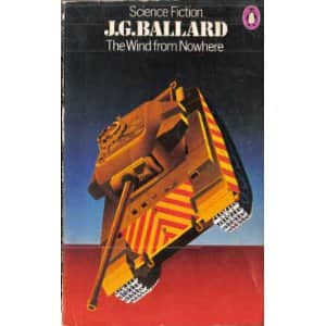 The Wind From Nowhere  - J.G. Ballard cover