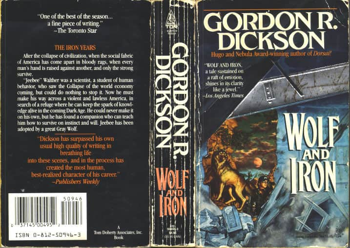 Wolf and Iron - Gordon R. Dickson cover