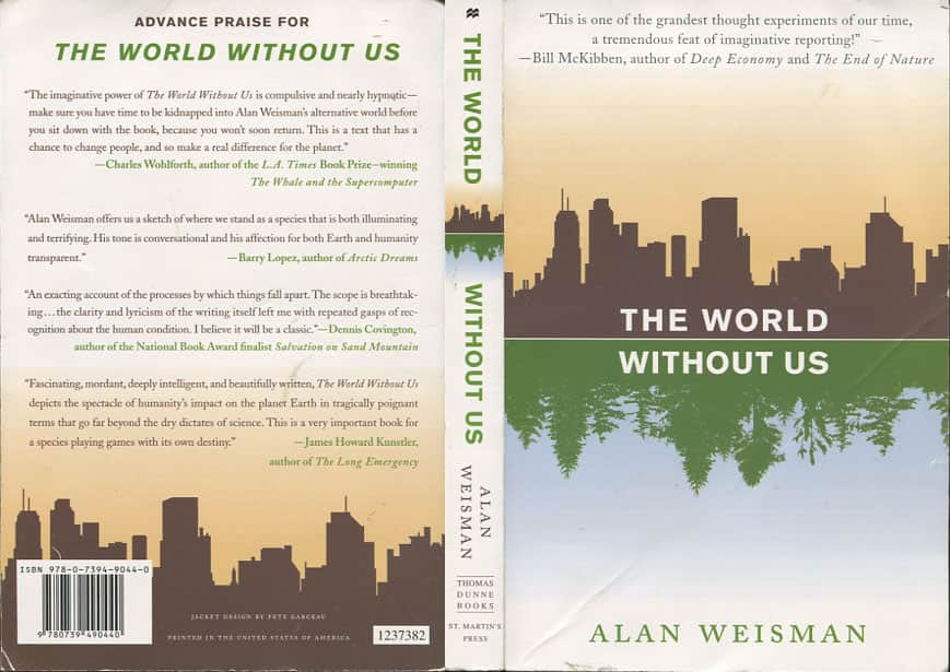 The World Without Us  - Alan Weisman cover