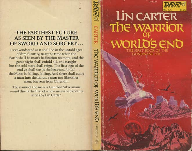 The Warrior of World's End  - Lin Carter cover