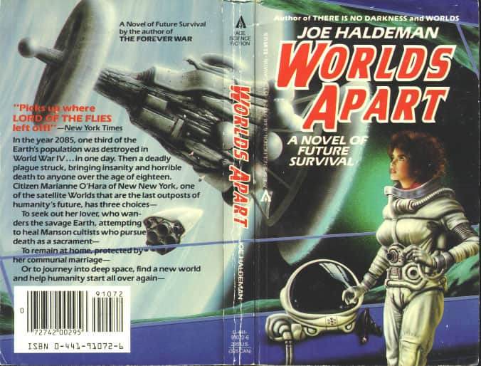 Worlds Apart - Joe Haldeman cover