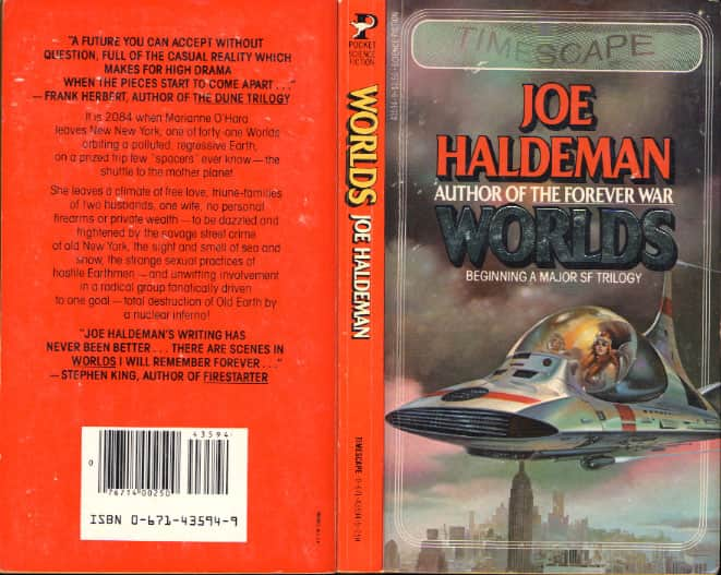 Worlds - Joe Haldeman cover