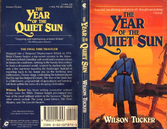 The Year of the Quiet Sun  - Wilson Tucker cover