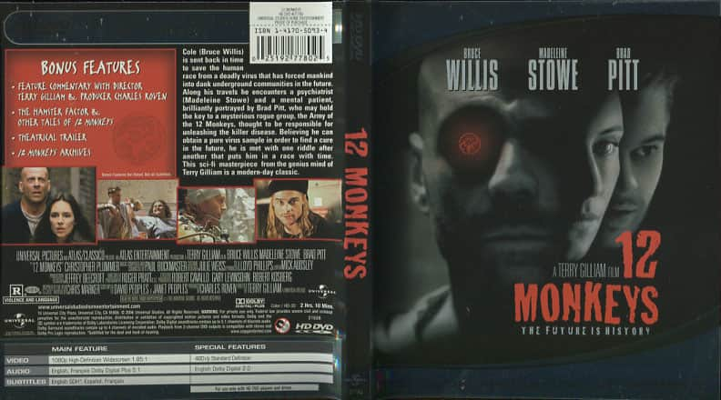 12 Monkeys   - Terry Gilliam cover