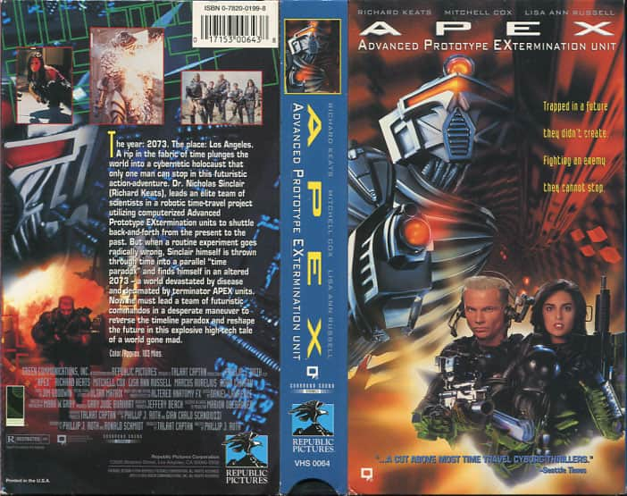 A.P.E.X. - Phillip J. Roth cover