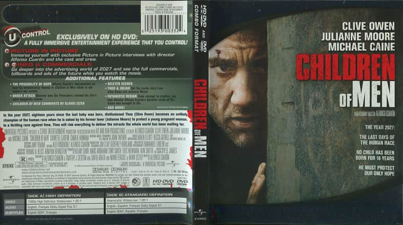 Children of Men - Alfonso Cuarón cover