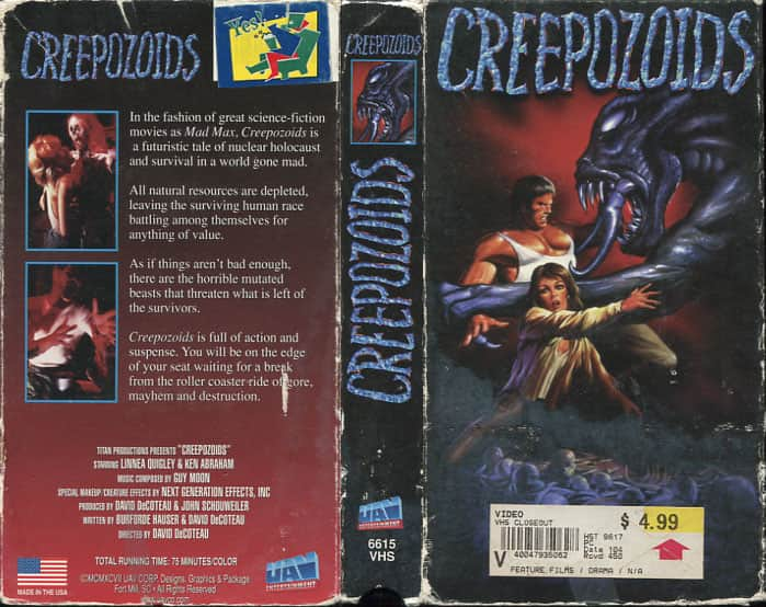 Creepozoids - David DeCoteau cover