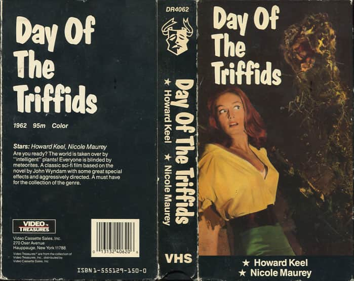 Day of the Triffids - Steve Sekely cover