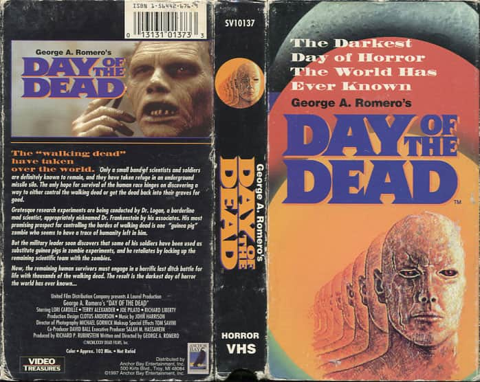 Day of the Dead - George Romero  cover