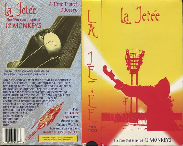 La Jetee - Chris Marker cover
