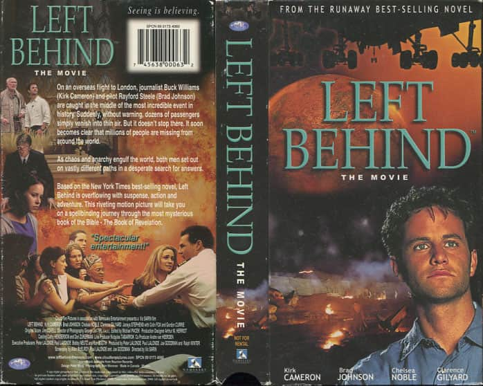 Left Behind - Vic Sarin cover