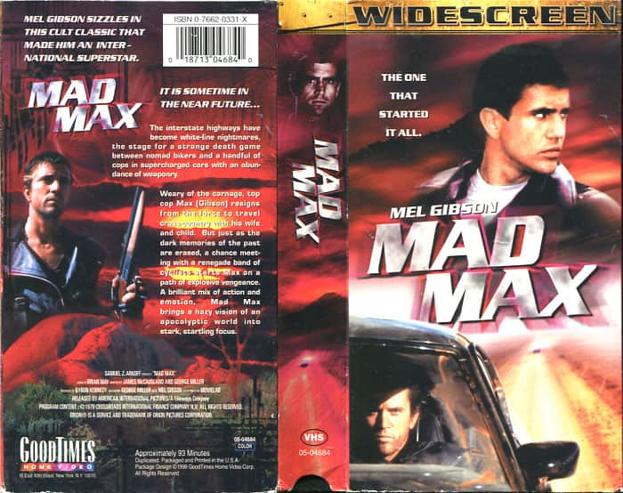 Mad Max - George Miller cover