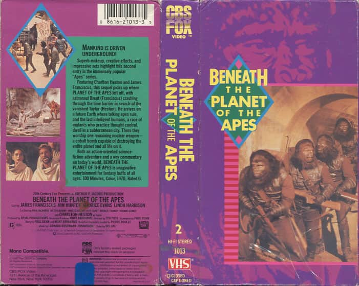 Beneath the Planet of the Apes - Ted Post  cover