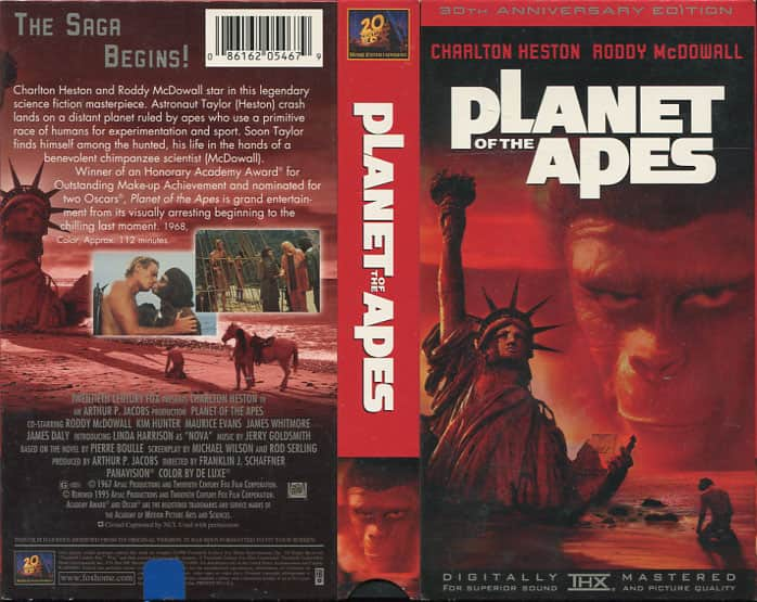 Planet of the Apes - Franklin J. Schaffner cover