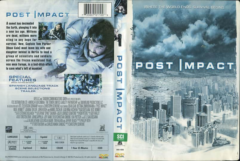 Post Impact - Christoph Schrewe cover