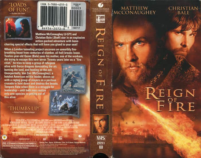 Reign of Fire  - Rob Bowman  cover