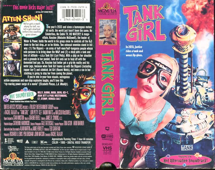 Tank Girl - Rachel Talalay cover
